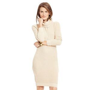 Ralph Lauren Funnel Neck Sweater Dress